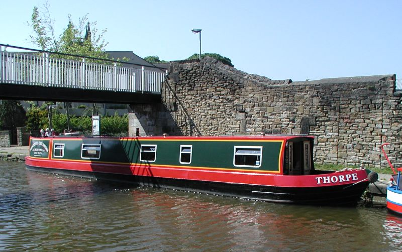 Narrowboat 'Worcester'